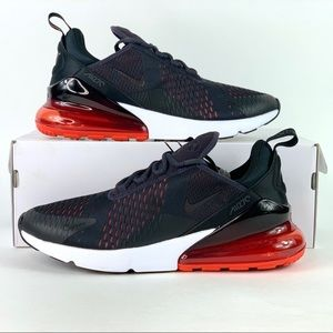 Nike Air Max 270 Running Shoes Oil Grey